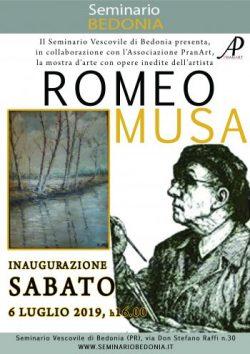 Inaugurazione Mostra Romeo Musa